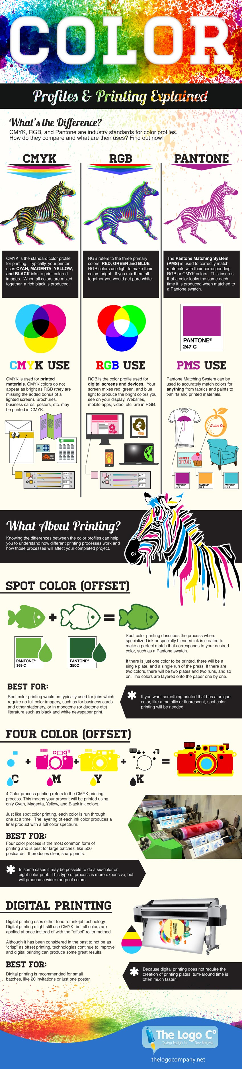 Colour: Profiles and Printing Explained by The Logo Company