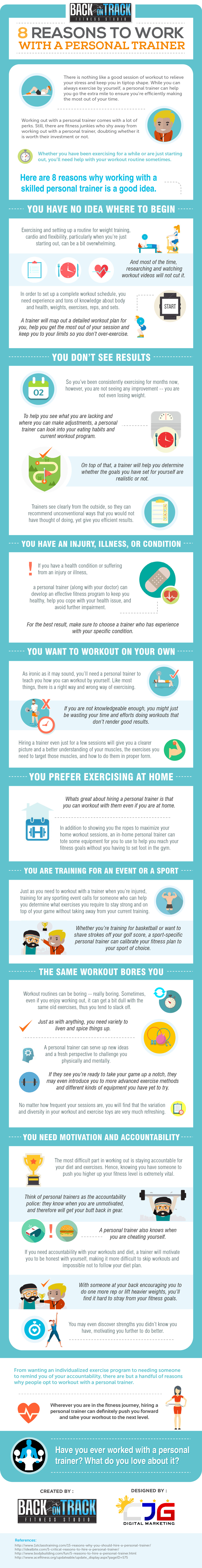 8 Reasons to Work With a Personal Trainer by Back On Track Fitness