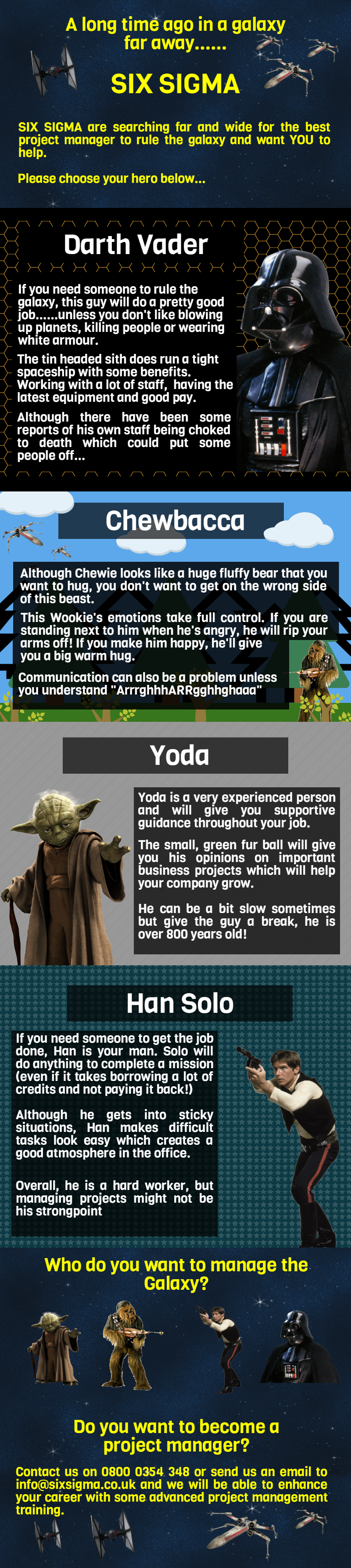Which Star Wars Character is the Best Project Manager?