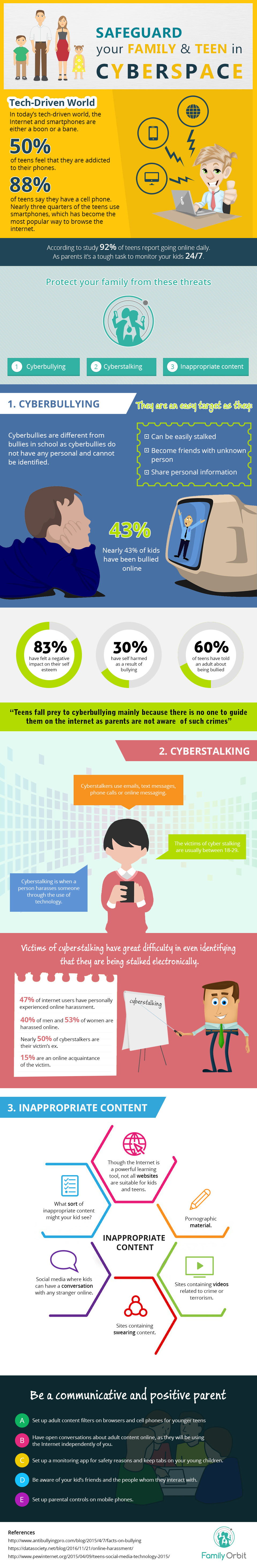 Safeguard Your Family and Teen in Cyberspace by FamilyOrbit