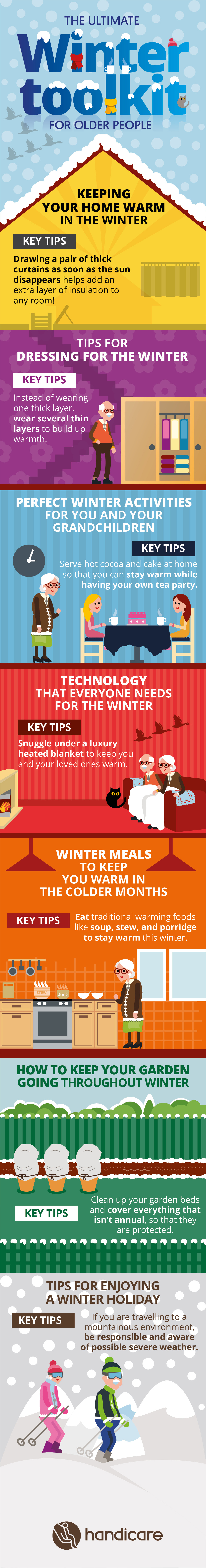 The Ultimate Winter Toolkit for Older People by Age UK Mobility