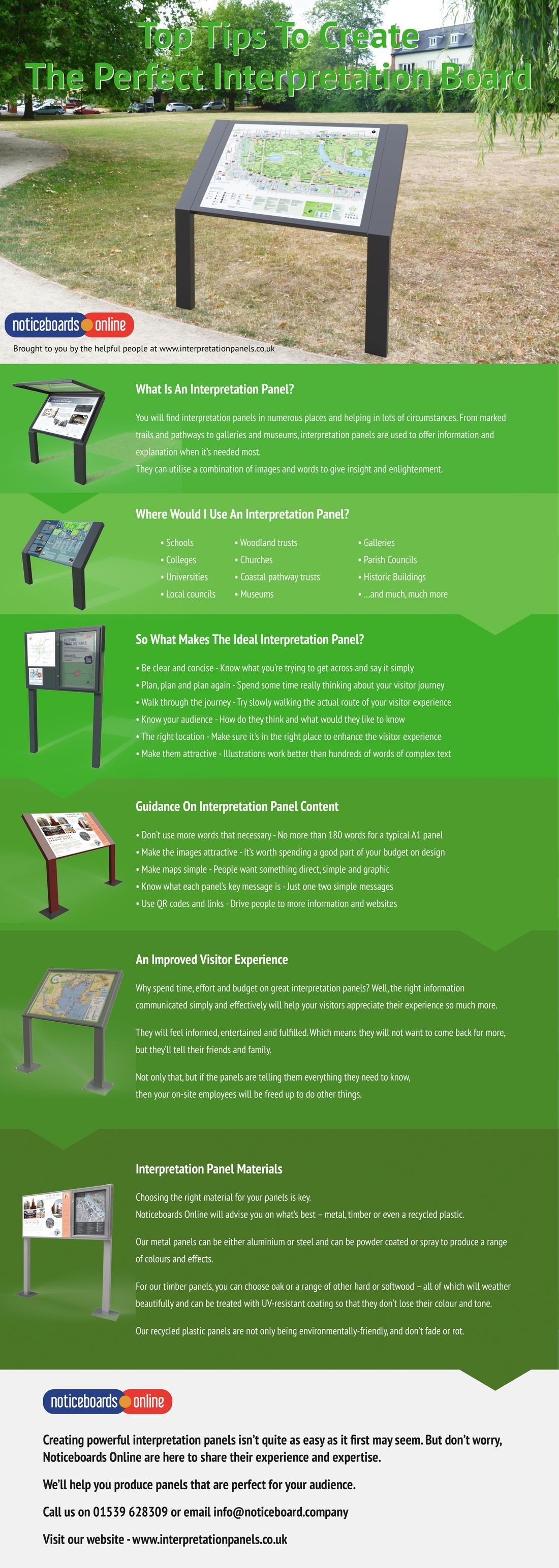 Top Tips to Create The Perfect Interpretation Board