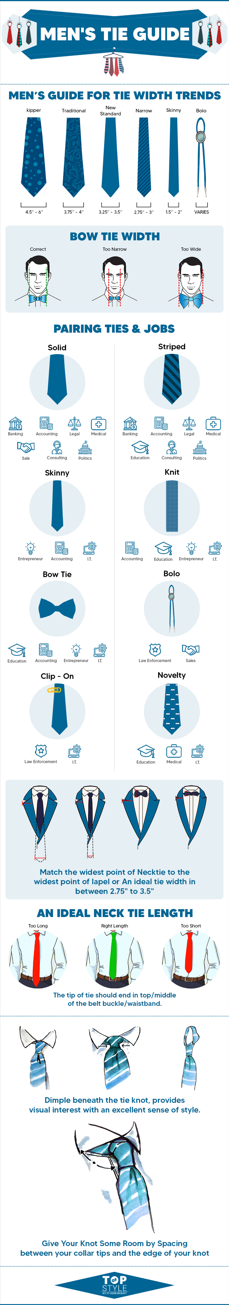 A Guide to Different Types of Men's Tie